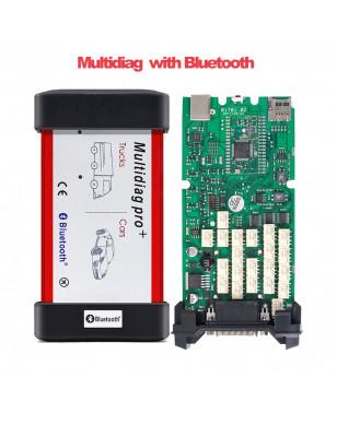 Multidiag Pro+ vci 2016 R0 Keygen Single green board PCB OBDII interface CAR/TRUCK Diagnostic tool CDP TCS Auto Scanner - United Kingdom, Multidiag BT YSTE-24825