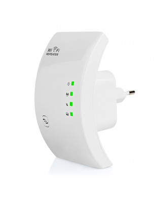 300 Mbps Wireless WiFi Extender - Russian Federation, EU with Original Box, White YSTE-27700