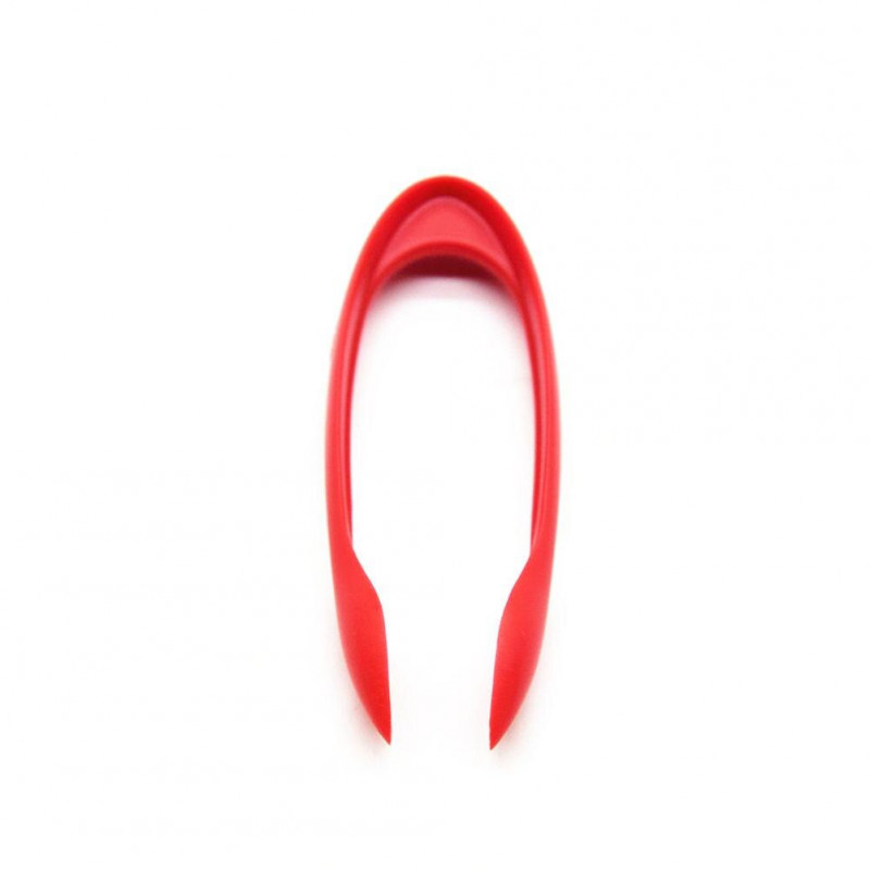 Creative Slicer Food grade plastic Strawberry to pedicle fruit digger Cutter Strawberry Core Picker Kitchen Tools Gadgets Corers - Red YSTE-30717