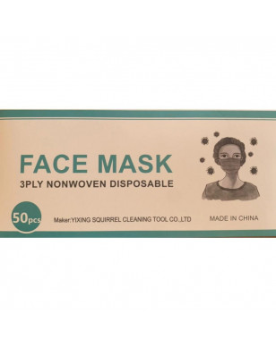 Face Mask 3ply Nonwoven Disposable